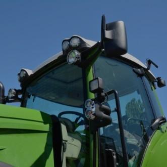 Lunas de cristal de tractor